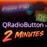 PySide + PyQt | QPushButton + Signals in 3 Minutes - Impatient